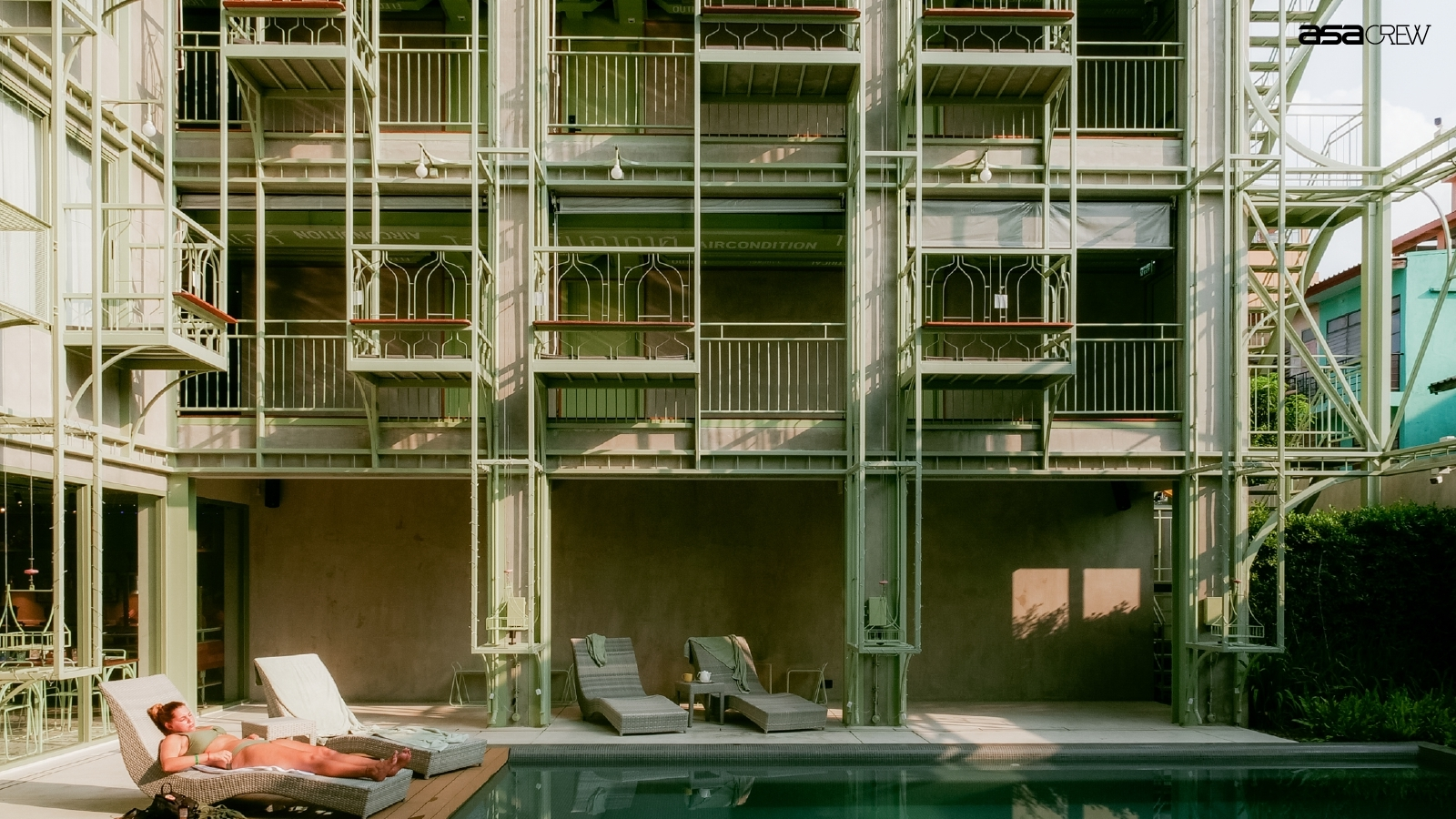 Walk & Talk with an Architect 3: Samsen Street Hotel by CHAT Architects