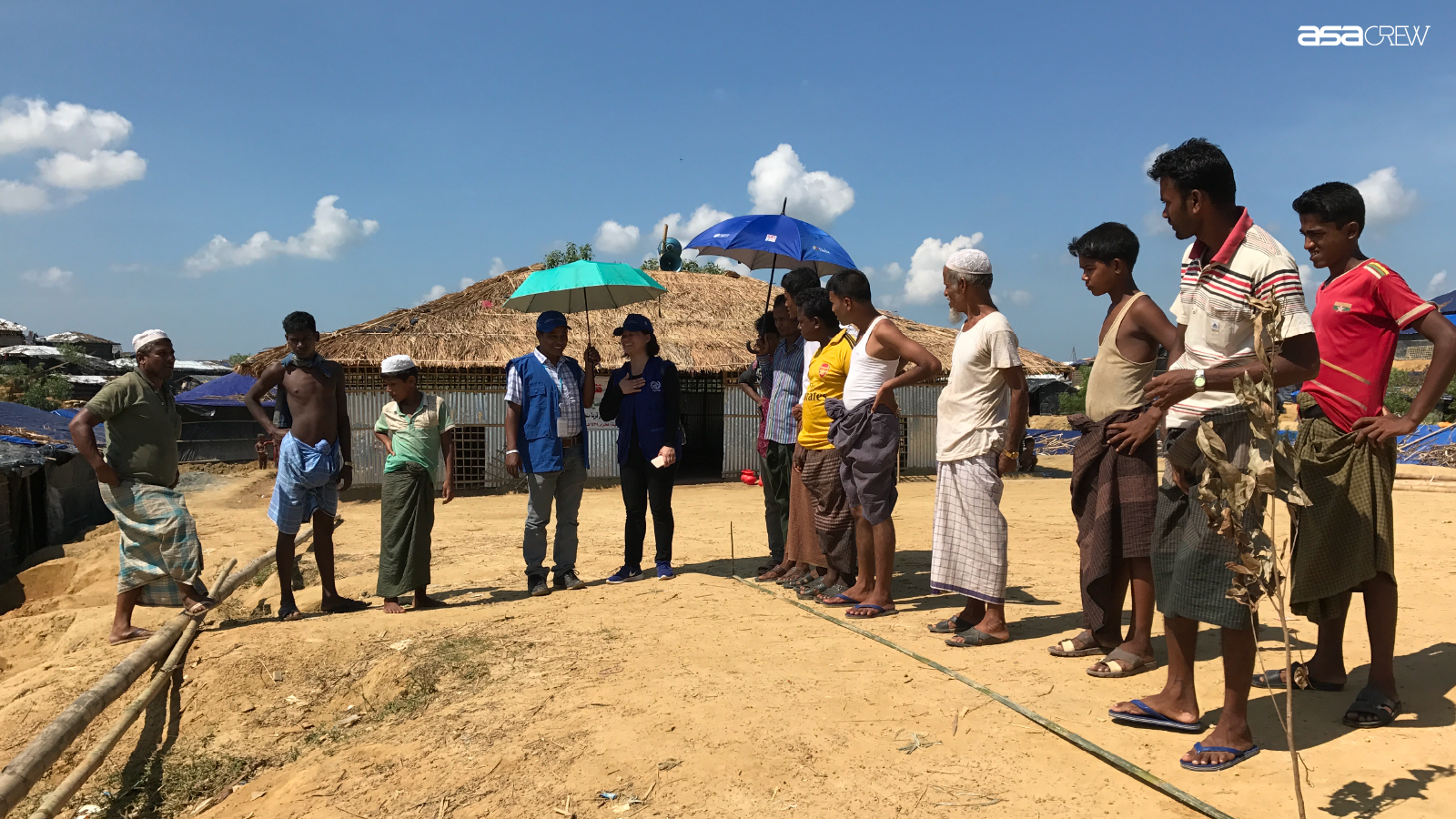 One Day with an Architect: One Day in a Migration Camp