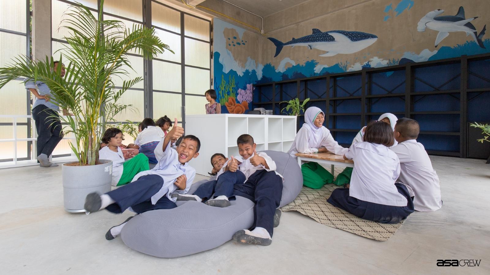 โรงเรียนบ้านคลองบอน: พื้นที่เรียนรู้สร้างสรรค์จากภาพวาดเพื่อสร้างภาพฝัน