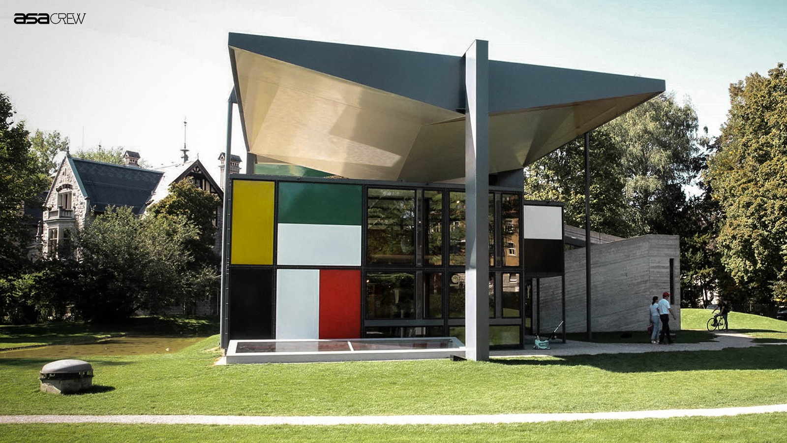 Reopening of the Pavillon Le Corbusier